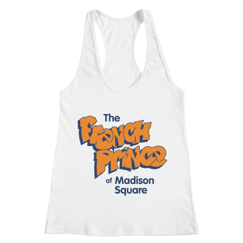 The French Prince of Madison Square Women's Racerback Tank by Sport'n Goods Artist Shop