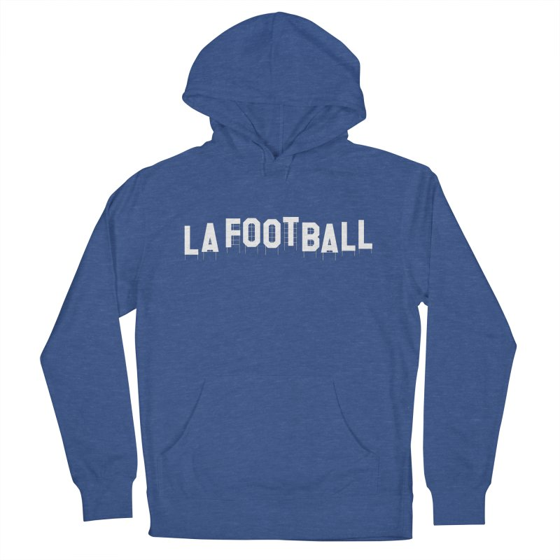 LA Football Men's French Terry Pullover Hoody by Sport'n Goods Artist Shop