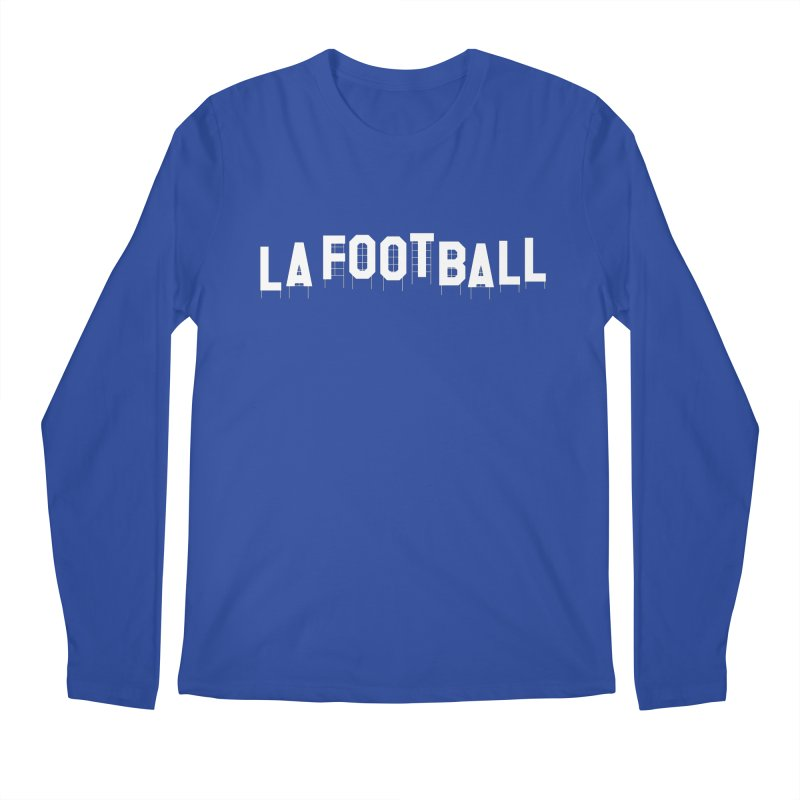 LA Football Men's Regular Longsleeve T-Shirt by Sport'n Goods Artist Shop