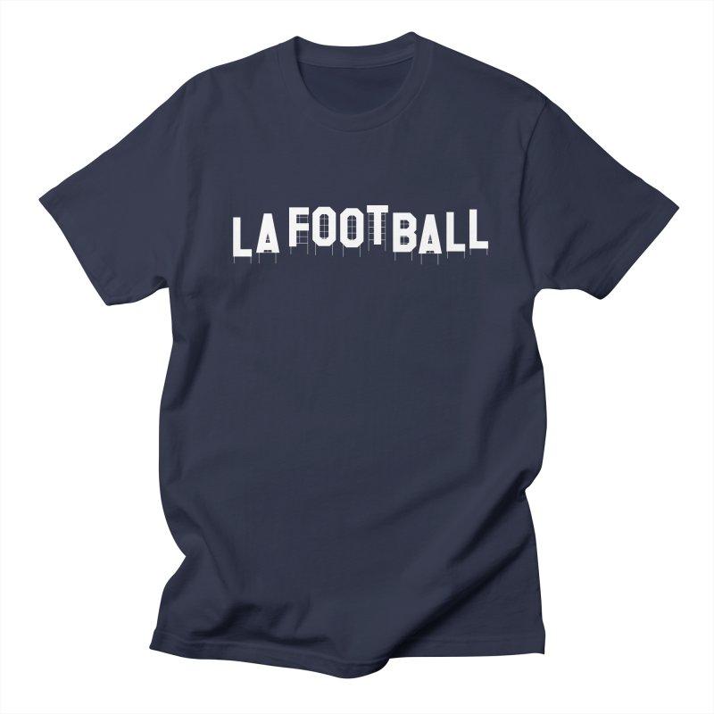 LA Football Men's T-Shirt by Sport'n Goods Artist Shop