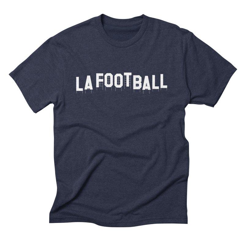 LA Football Men's Triblend T-Shirt by Sport'n Goods Artist Shop