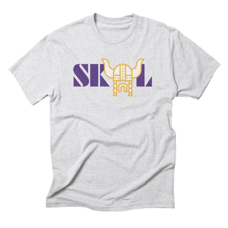 SKOL in Men's Triblend T-Shirt Heather White by Sport'n Goods Artist Shop