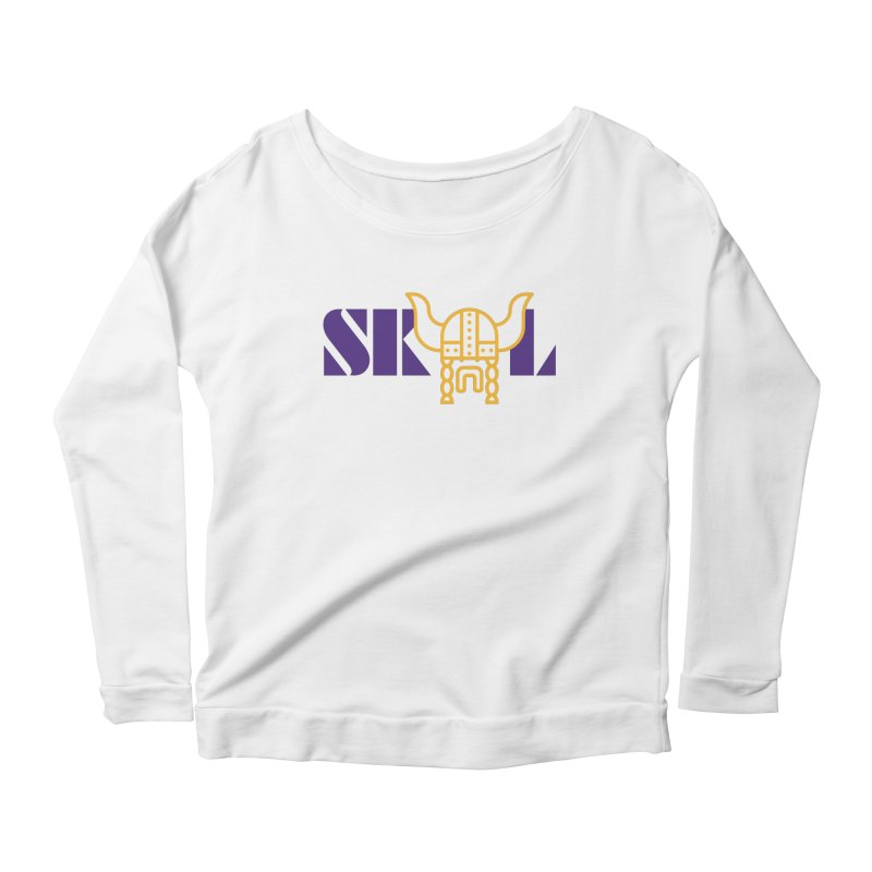 SKOL Women's Longsleeve Scoopneck  by Sport'n Goods Artist Shop