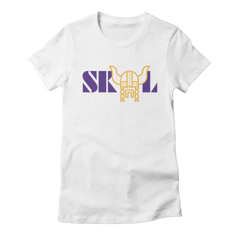 SKOL Women's Fitted T-Shirt by Sport'n Goods Artist Shop
