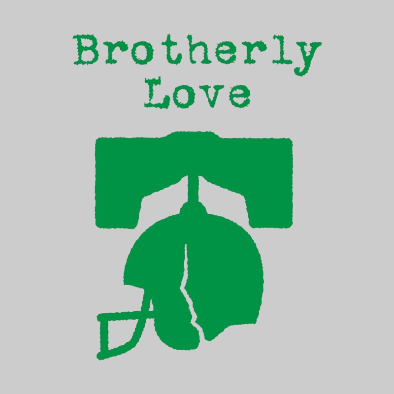 Brotherly Love Men's T-Shirt by Sport'n Goods Artist Shop