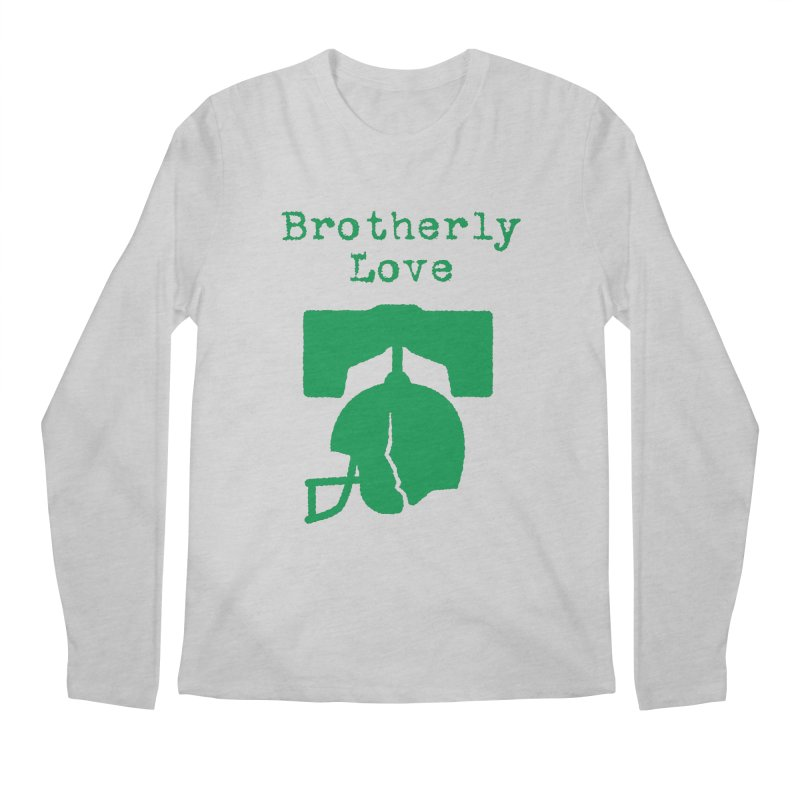Brotherly Love Men's Regular Longsleeve T-Shirt by Sport'n Goods Artist Shop