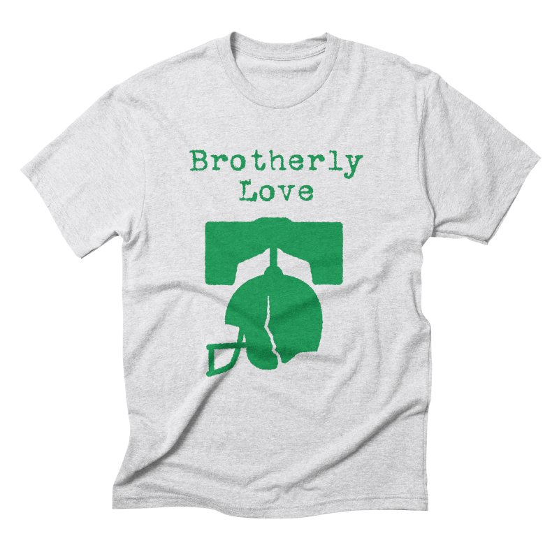 Brotherly Love Men's Triblend T-Shirt by Sport'n Goods Artist Shop