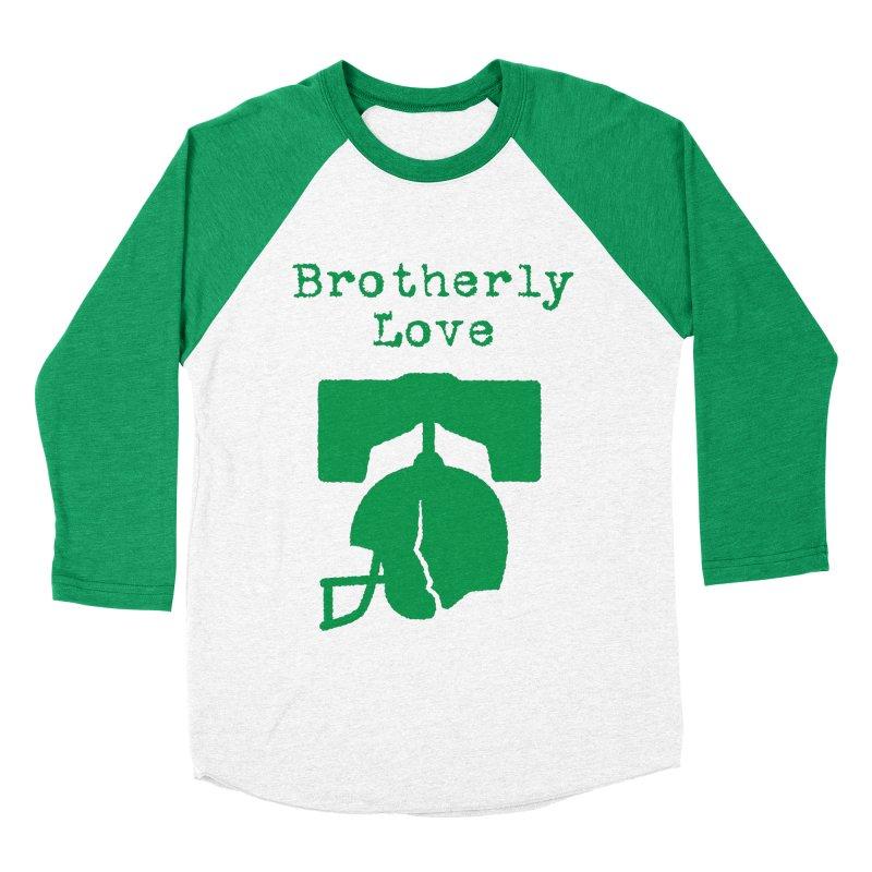 Brotherly Love Women's Baseball Triblend T-Shirt by Sport'n Goods Artist Shop