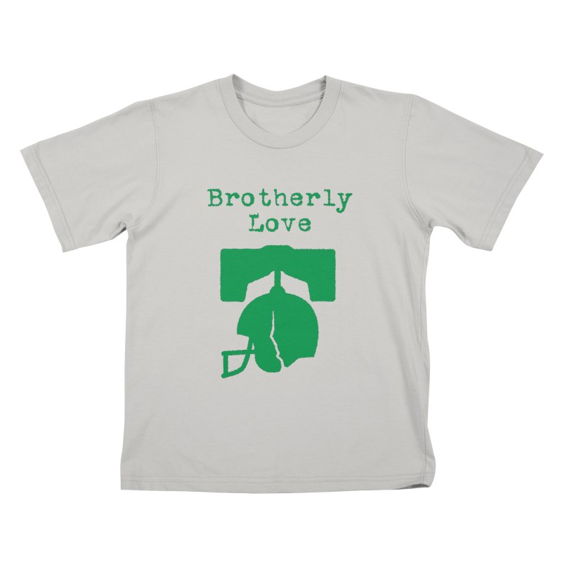 Brotherly Love Kids T-Shirt by Sport'n Goods Artist Shop