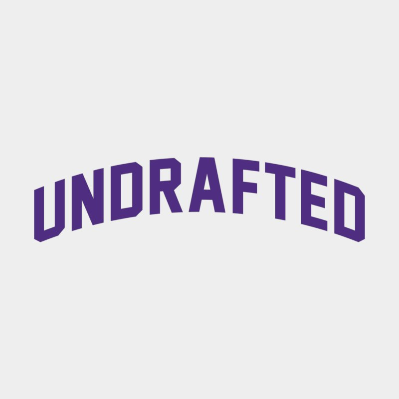 Undrafted Men's Pullover Hoody by Sport'n Goods Artist Shop
