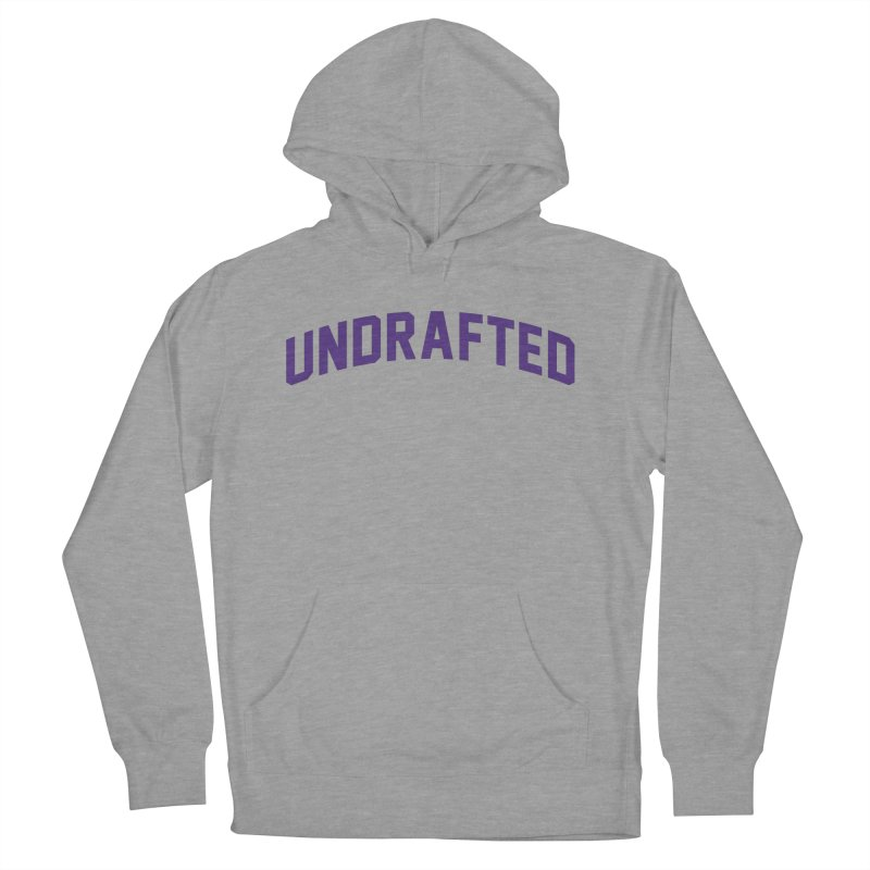 Undrafted Men's French Terry Pullover Hoody by Sport'n Goods Artist Shop
