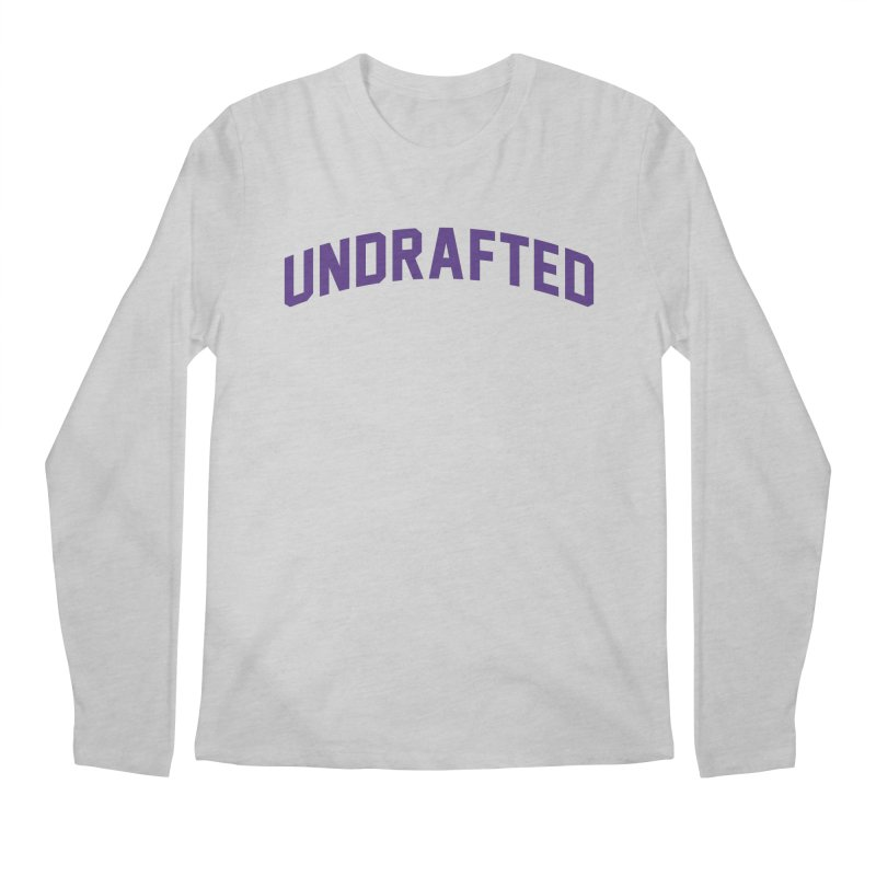 Undrafted Men's Regular Longsleeve T-Shirt by Sport'n Goods Artist Shop