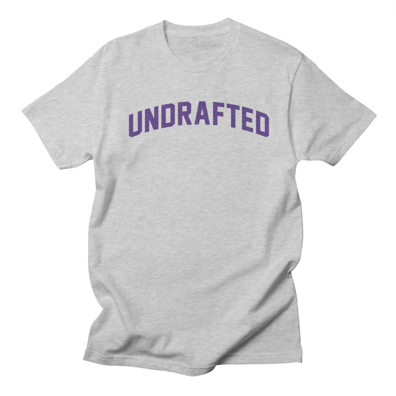 Undrafted Women's Regular Unisex T-Shirt by Sport'n Goods Artist Shop