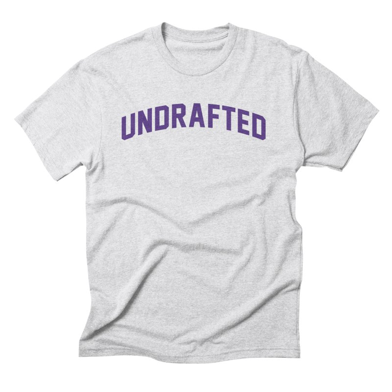 Undrafted Men's Triblend T-Shirt by Sport'n Goods Artist Shop