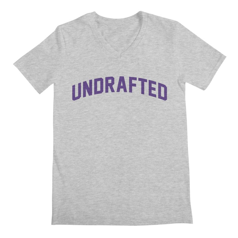 Undrafted Men's Regular V-Neck by Sport'n Goods Artist Shop