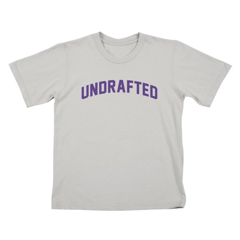 Undrafted Kids T-Shirt by Sport'n Goods Artist Shop