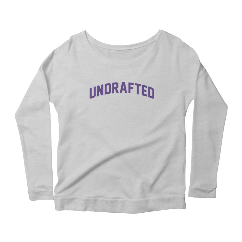 Undrafted Women's Scoop Neck Longsleeve T-Shirt by Sport'n Goods Artist Shop