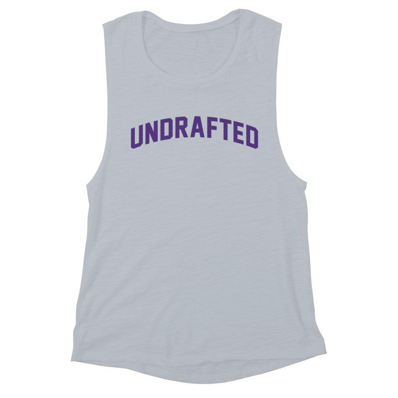 Undrafted Women's Muscle Tank by Sport'n Goods Artist Shop