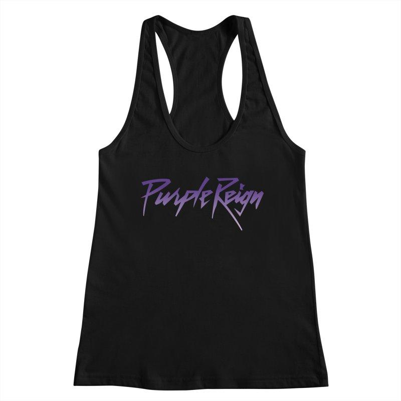 Purple Reign Women's Tank by Sport'n Goods Artist Shop