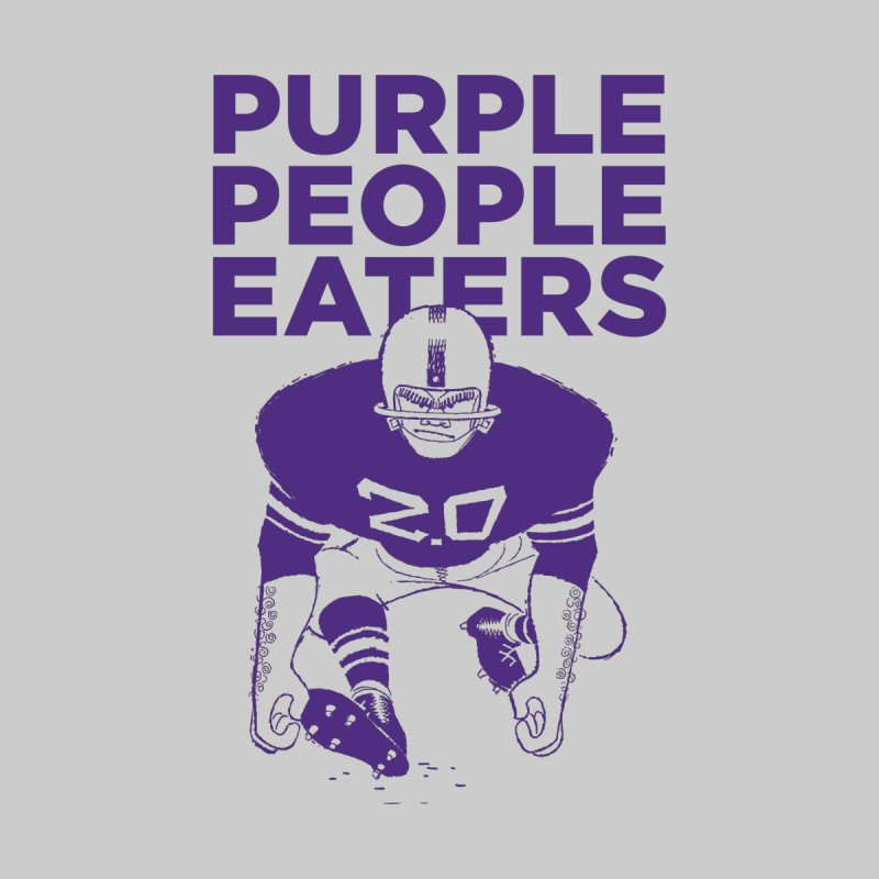 Purple People Eaters 2.0 Men's V-Neck by Sport'n Goods Artist Shop