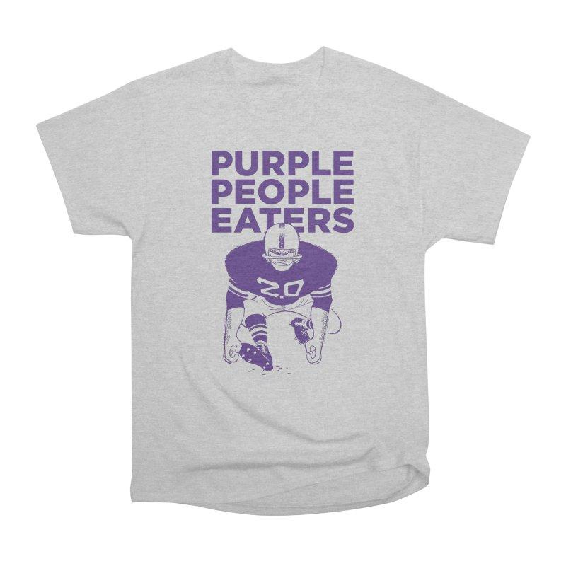 Purple People Eaters 2.0 Women's Heavyweight Unisex T-Shirt by Sport'n Goods Artist Shop