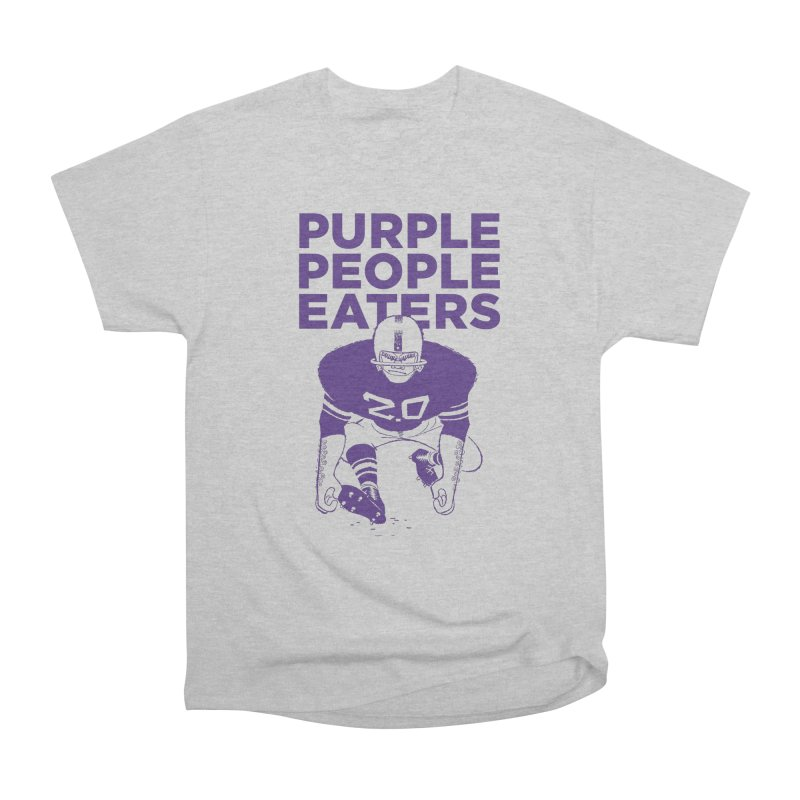 Purple People Eaters 2.0 Men's Heavyweight T-Shirt by Sport'n Goods Artist Shop