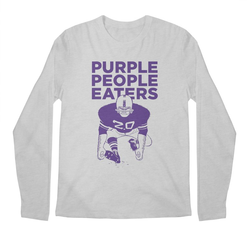 Purple People Eaters 2.0 Men's Regular Longsleeve T-Shirt by Sport'n Goods Artist Shop
