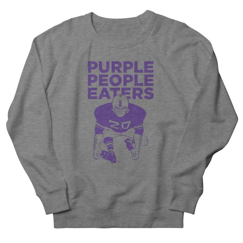 Purple People Eaters 2.0 Men's French Terry Sweatshirt by Sport'n Goods Artist Shop
