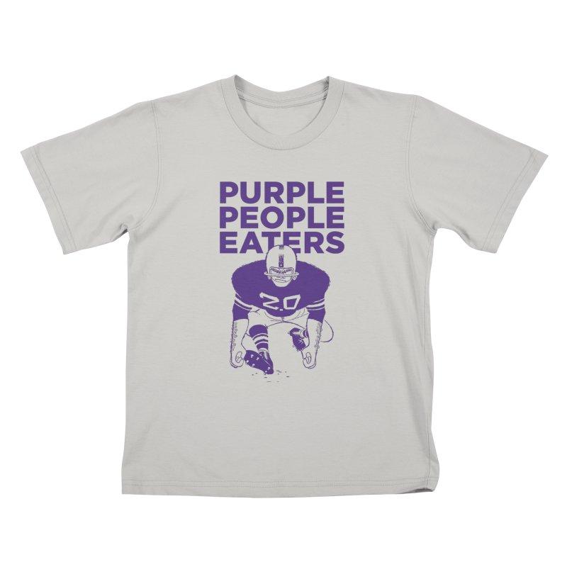 Purple People Eaters 2.0 Kids T-Shirt by Sport'n Goods Artist Shop
