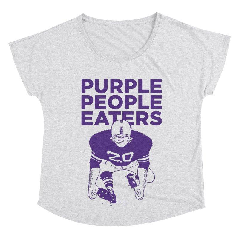 Purple People Eaters 2.0 Women's Dolman Scoop Neck by Sport'n Goods Artist Shop