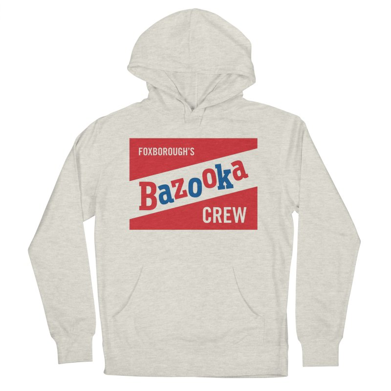 Bazooka Crew Women's French Terry Pullover Hoody by Sport'n Goods Artist Shop
