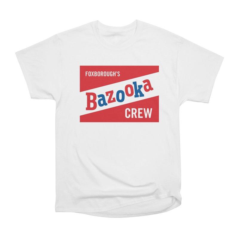Bazooka Crew Women's Heavyweight Unisex T-Shirt by Sport'n Goods Artist Shop