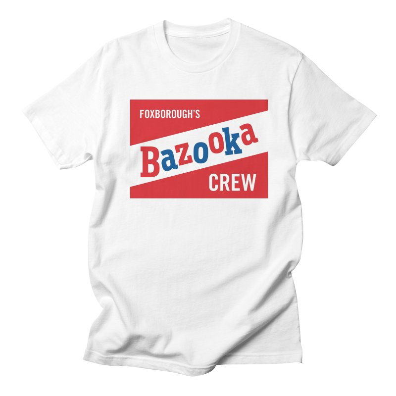 Bazooka Crew Women's Regular Unisex T-Shirt by Sport'n Goods Artist Shop