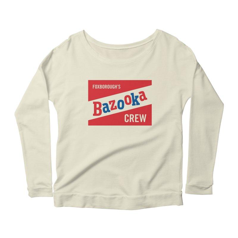 Bazooka Crew Women's Longsleeve Scoopneck  by Sport'n Goods Artist Shop