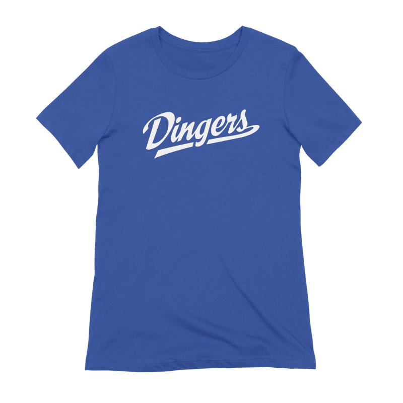 Dingers LA Women's Extra Soft T-Shirt by Sport'n Goods Artist Shop