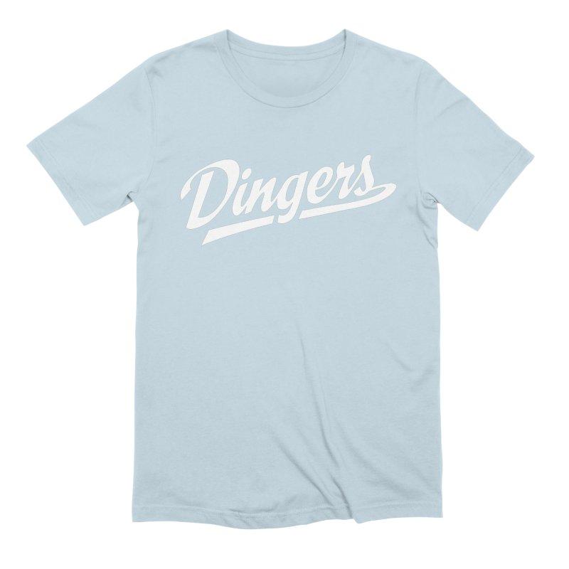 Dingers LA Men's Extra Soft T-Shirt by Sport'n Goods Artist Shop