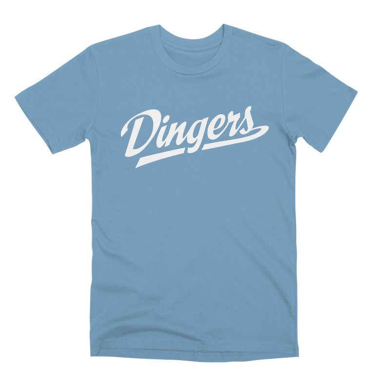 Dingers LA Men's Premium T-Shirt by Sport'n Goods Artist Shop