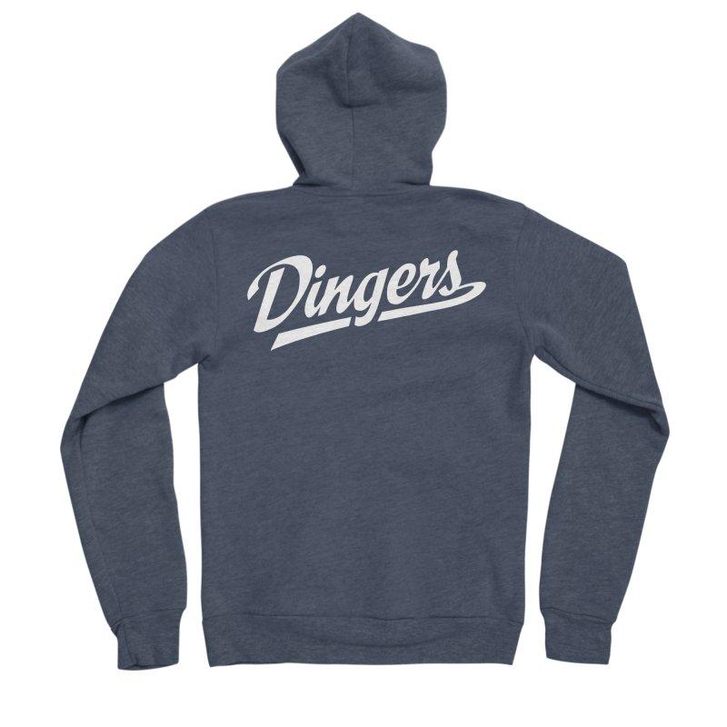 Dingers LA Men's Sponge Fleece Zip-Up Hoody by Sport'n Goods Artist Shop