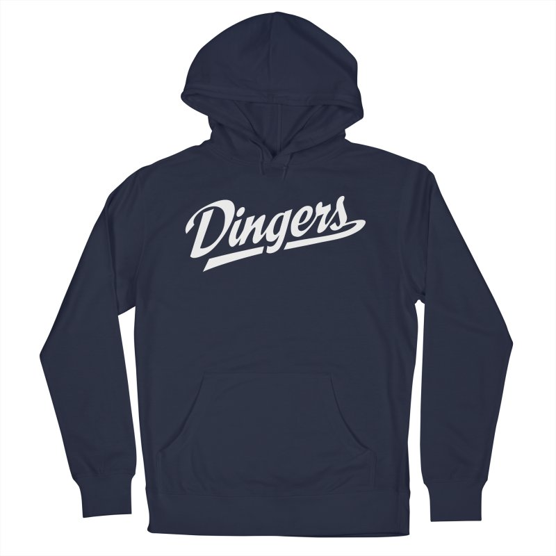 Dingers LA Men's French Terry Pullover Hoody by Sport'n Goods Artist Shop