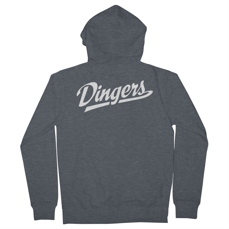 Dingers LA Men's French Terry Zip-Up Hoody by Sport'n Goods Artist Shop