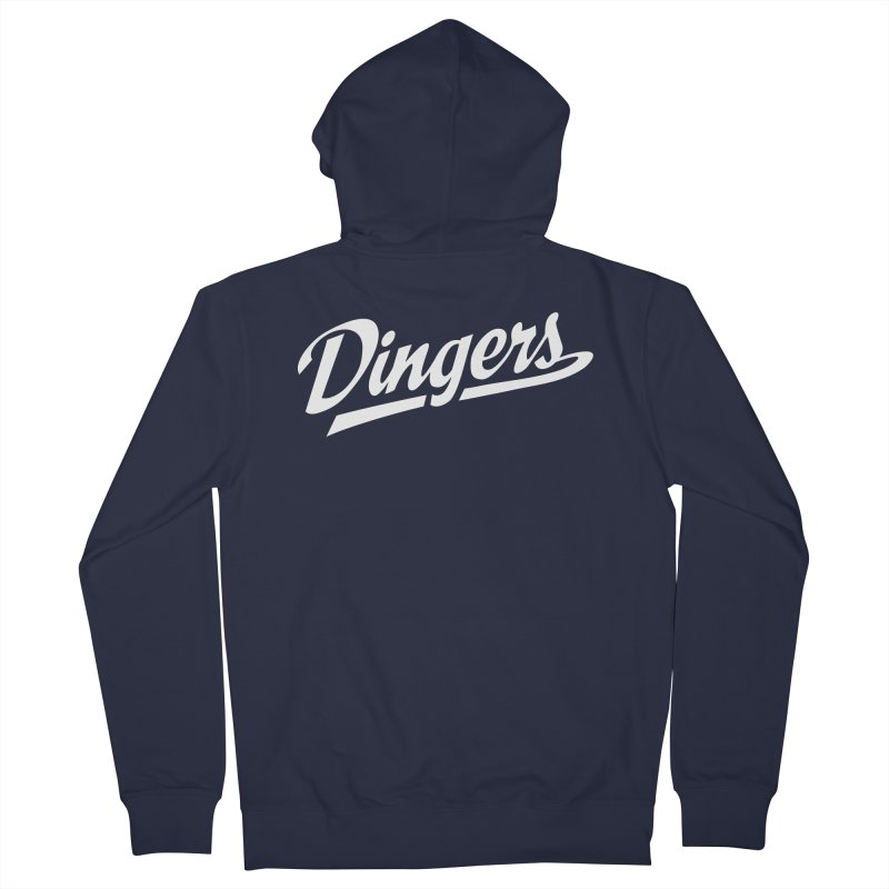 Dingers LA Men's French Terry Zip-Up Hoody by Sport'n Goods Artist Shop