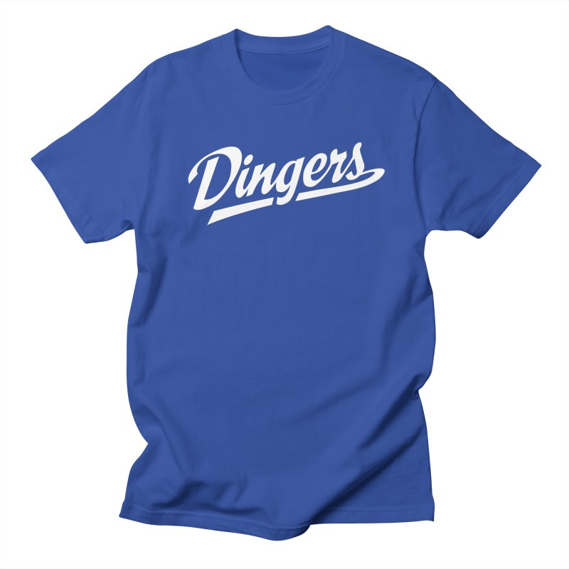 Dingers LA Women's Regular Unisex T-Shirt by Sport'n Goods Artist Shop