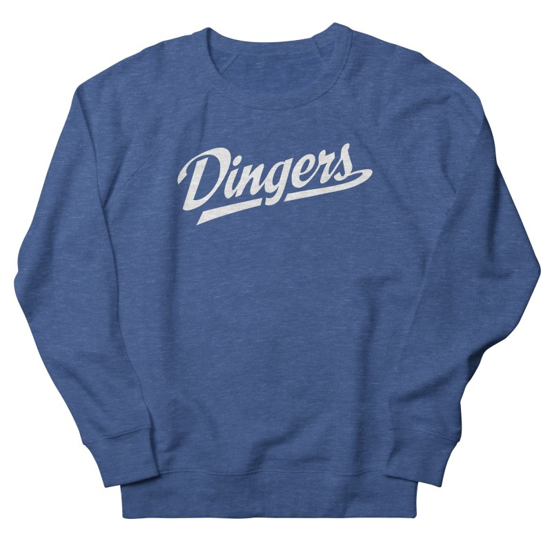 Dingers LA Men's French Terry Sweatshirt by Sport'n Goods Artist Shop