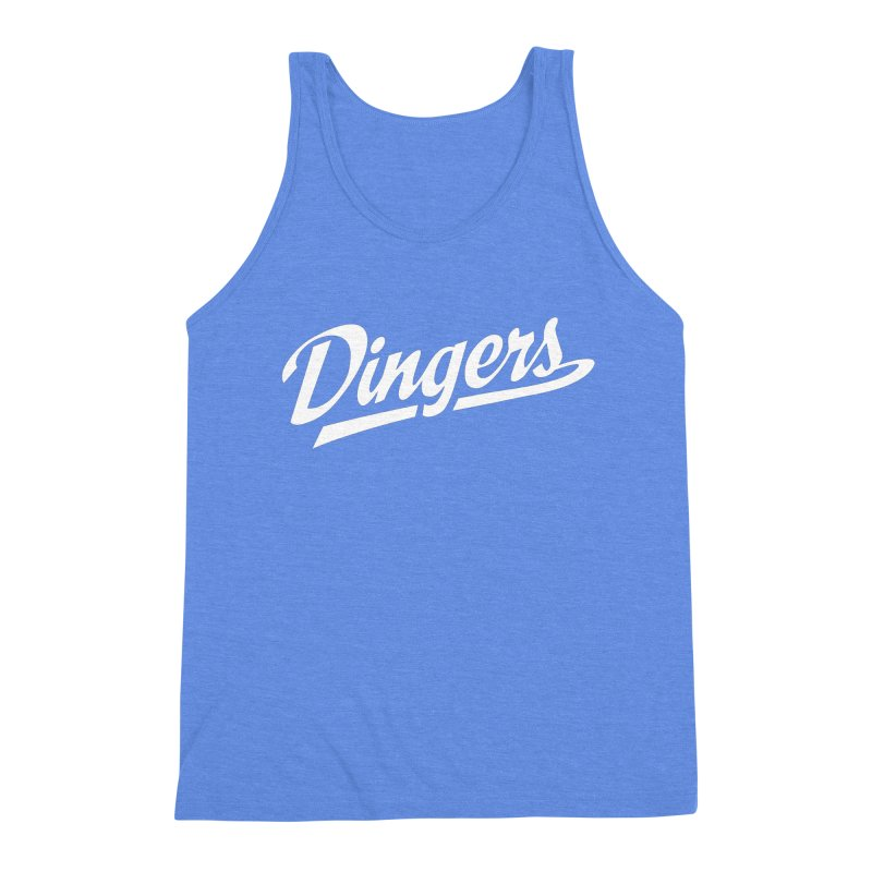 Dingers LA Men's Triblend Tank by Sport'n Goods Artist Shop