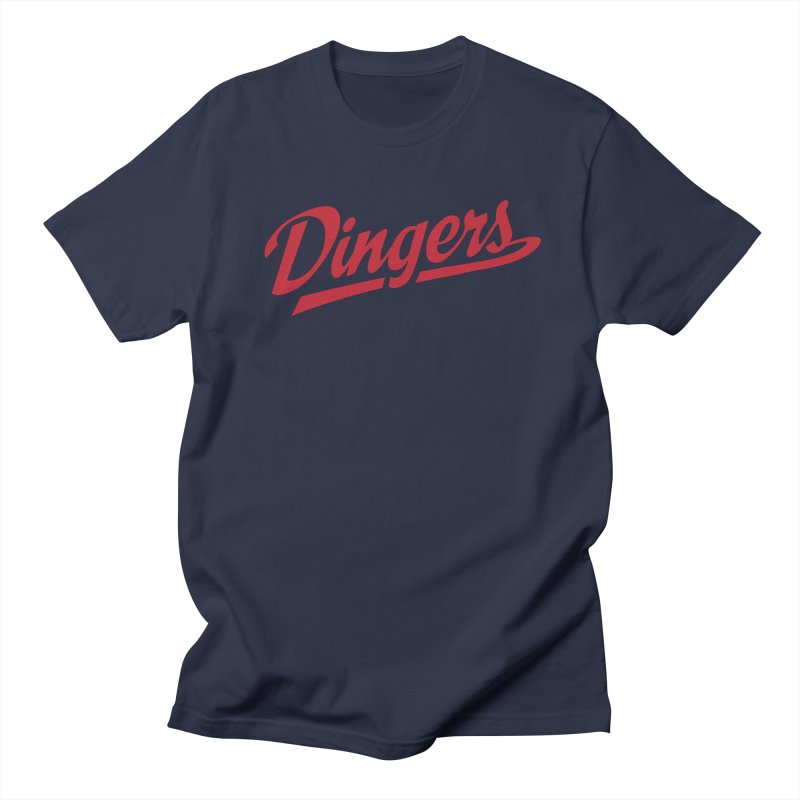 Dingers Boston Men's Regular T-Shirt by Sport'n Goods Artist Shop