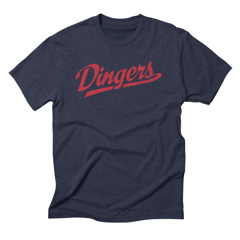 Dingers Boston Men's Triblend T-Shirt by Sport'n Goods Artist Shop