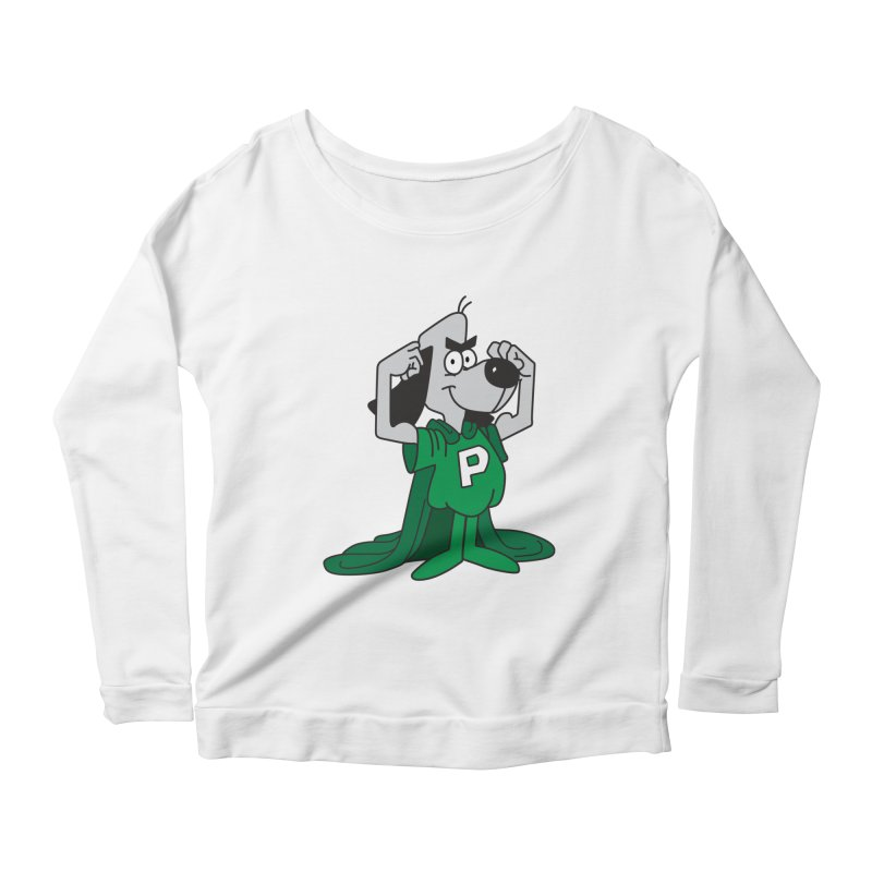 Philly Underdog Women's Scoop Neck Longsleeve T-Shirt by Sport'n Goods Artist Shop