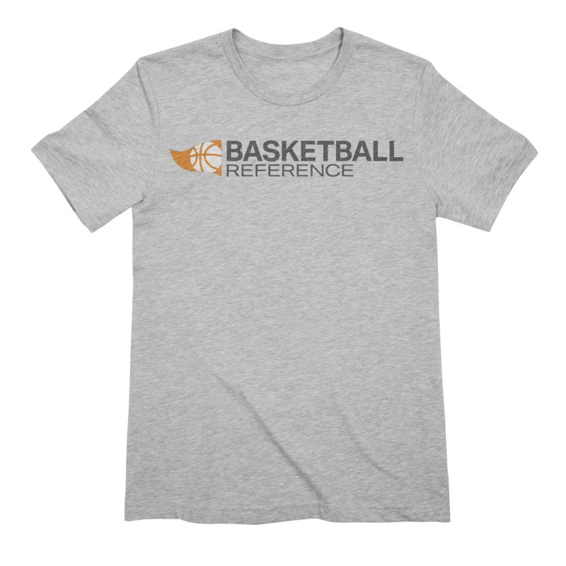 Basketball Reference Shirt (Light) Men's T-Shirt by Sports Reference Shop