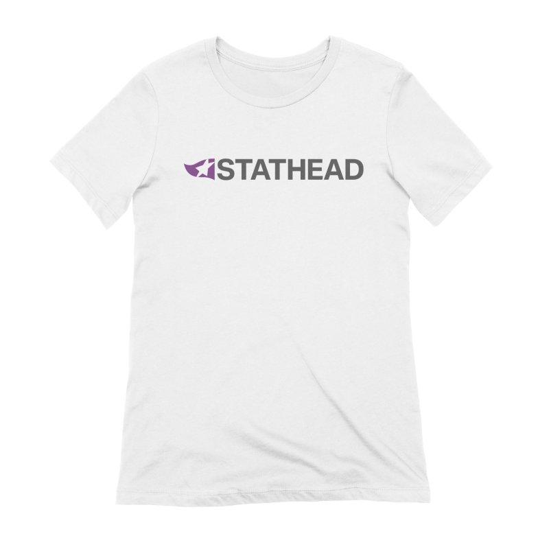 Stathead Shirt (Light) Women's T-Shirt by Sports Reference Shop