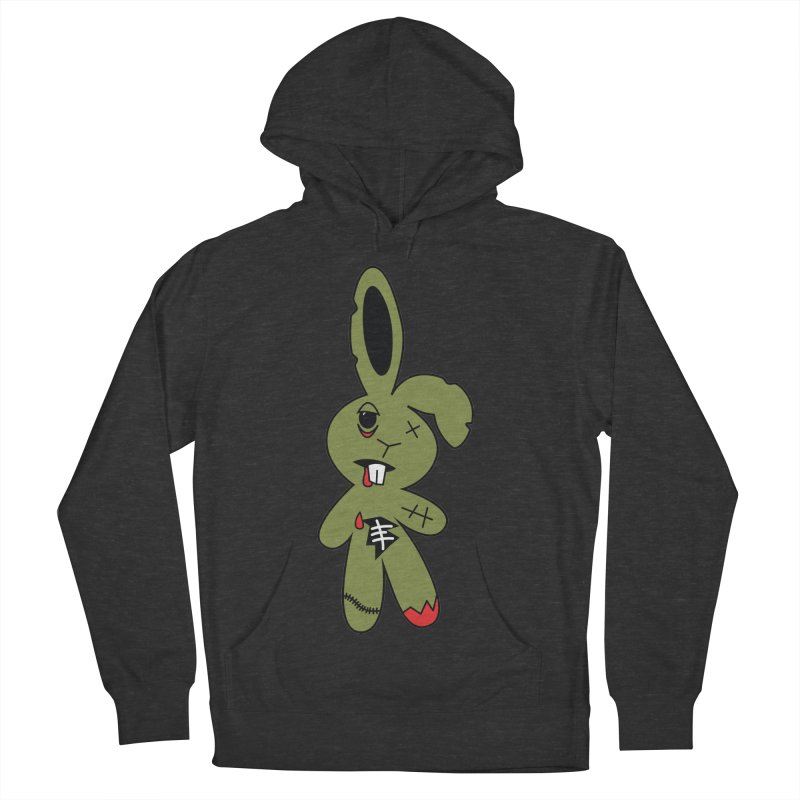 Zombunny Men's Pullover Hoody by Spot Colors's Artist Shop